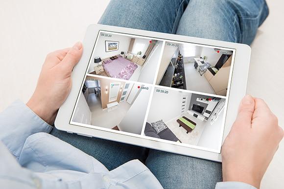 Consultation à distance d'un système de vidéosurveillance et de caméras sur Vitrolles