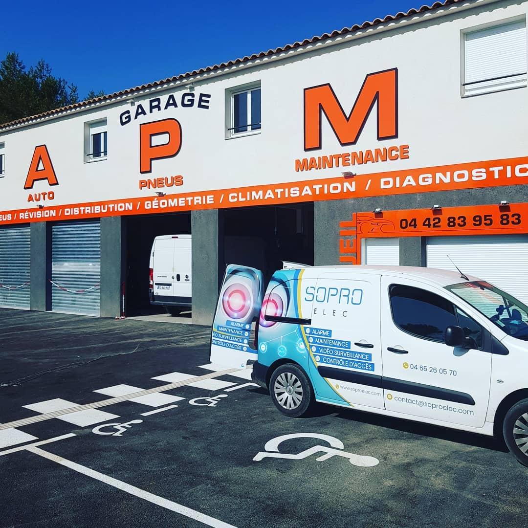 Garage Automobile APM à Belcodène