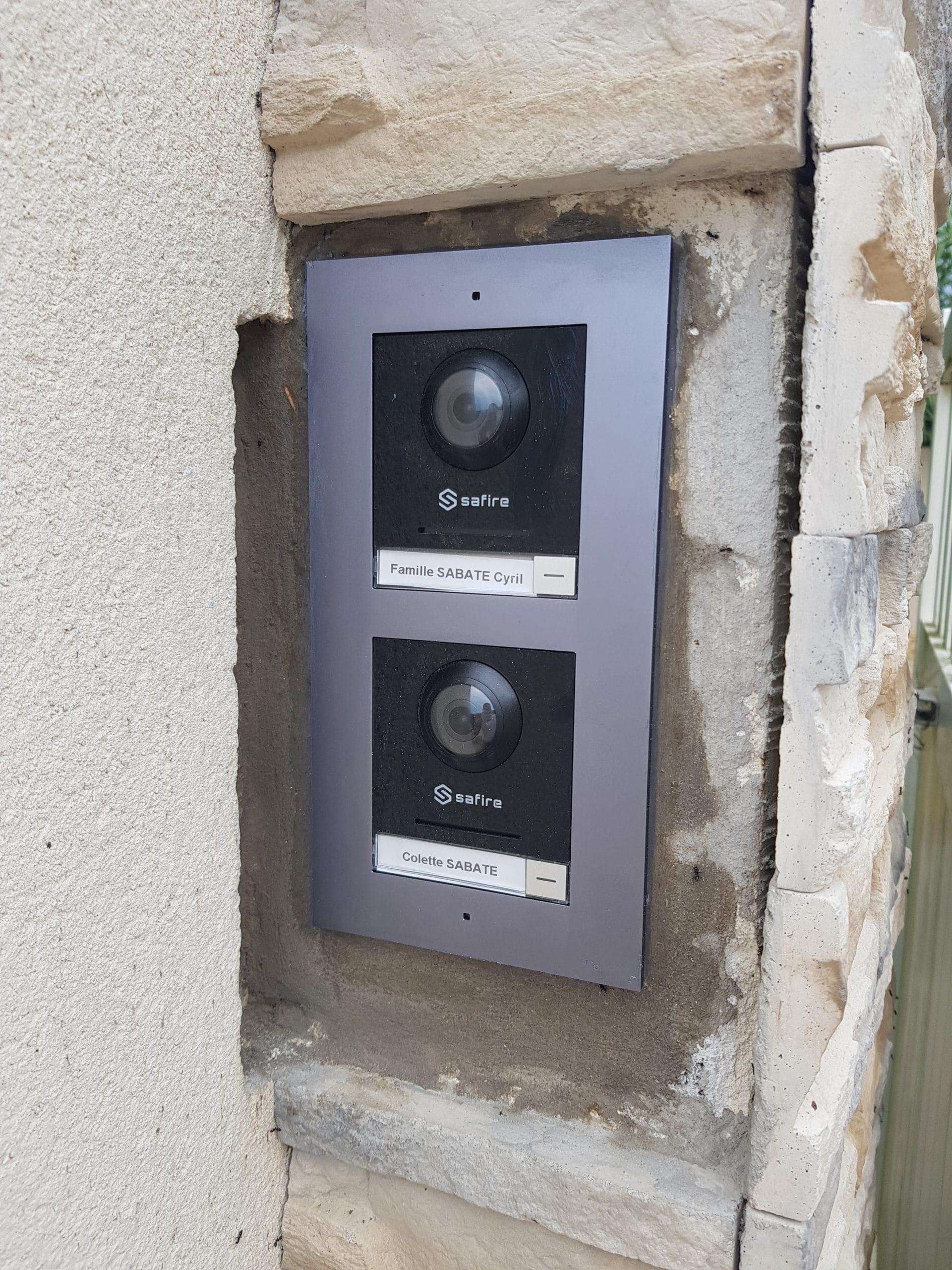 Installation d'un visiophone pour portail de 2 maisons à Lançond de Provence