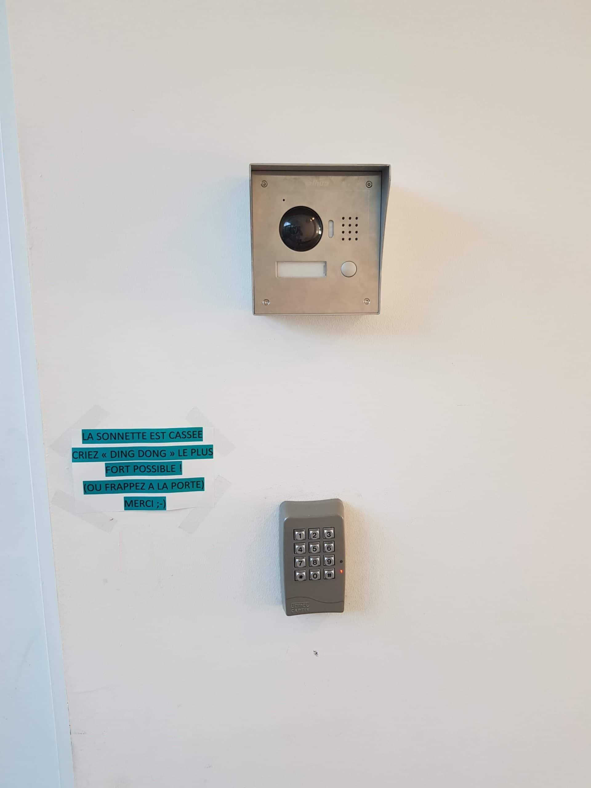 Installation d'un interphone vidéo pour une crèche à Aix Les Milles
