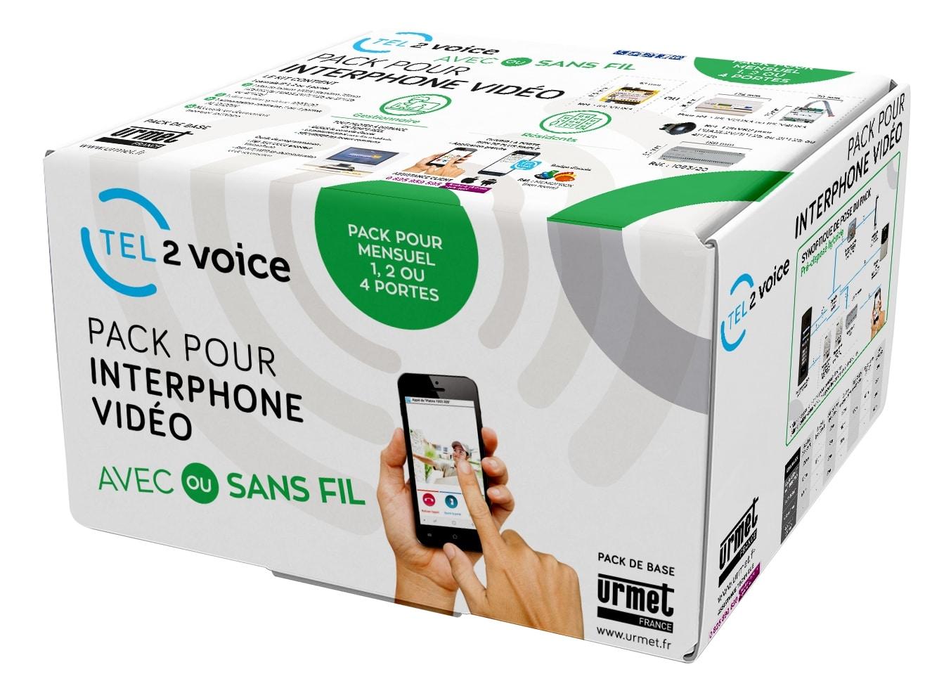 Tel2Voice : un interphone 100 % connecté