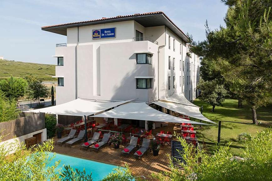 Hôtel à Aix avec piscine - Changement de caméra