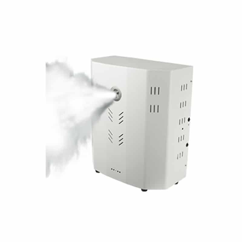 Alarme avec générateur de brouillard