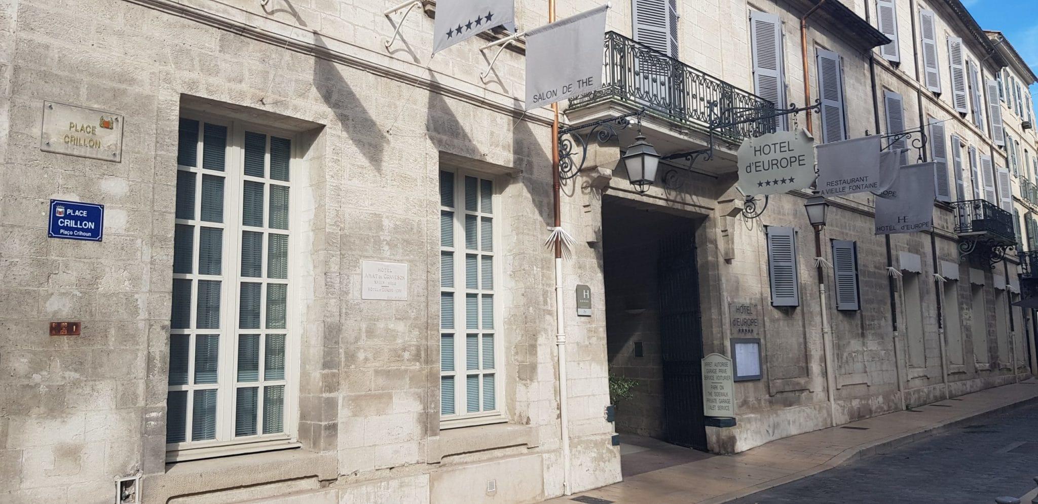 Hôtel d'Europe à Avignon