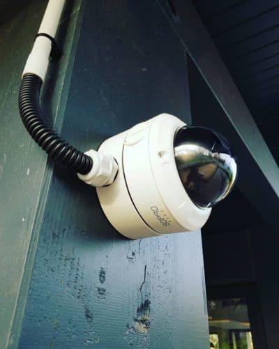 Installation de 7 caméras de vidéosurveillance pour une brasserie à Aix en Provence
