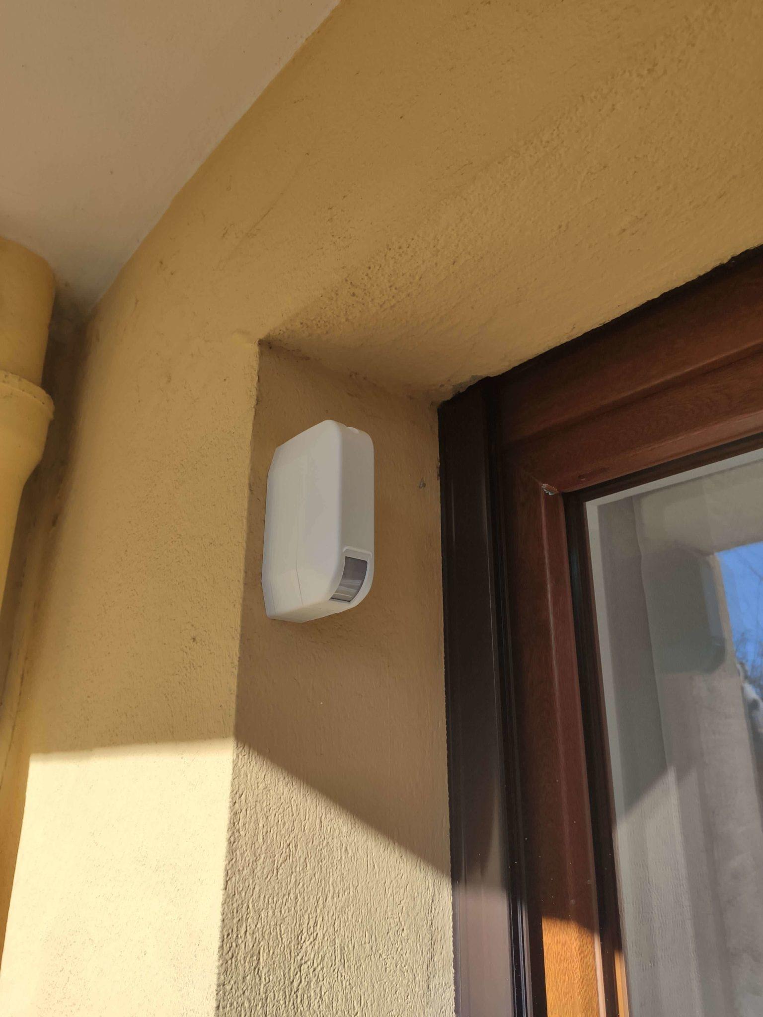 Installateur d'alarme et détecteur de rideau pour appartement en rdc à Marseille