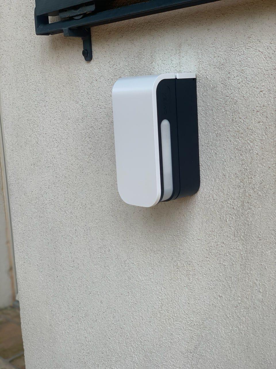 Installation et programmation de sirène d'alarme extérieur à Gémenos